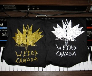 Presenting... Weird Canada... The T-SHIRT!
