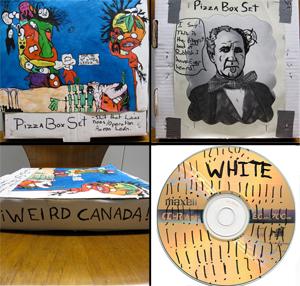 The Pizza Box-Set Volume 2: White!