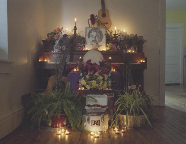 [Photo Scan] :: Jennifer Castle's Shrine (Cred. Landon Speers)