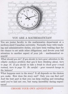 Mathematics Oddyssey - Back Cover