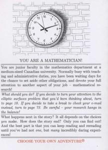 Mathematics Oddyssey - Back Cover