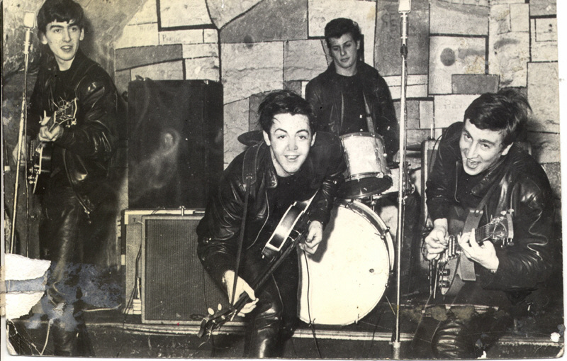 [Photo Scan] :: Beatles at the Cavern Club (c. 1961)