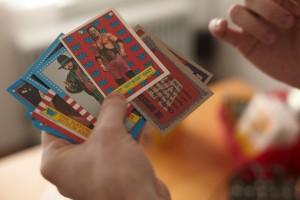 Ephemera :: Kevin Stebner - Dead-stock Wrastlin' Cards