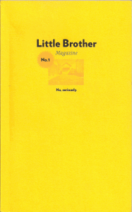 Little Brother Magazine No. 1