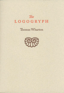 The Logogryph by Thomas Wharton