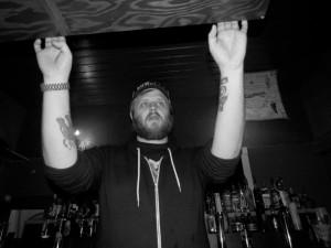 Craig Martell (at the bar) of The Wunderbar Hofbrauhaus