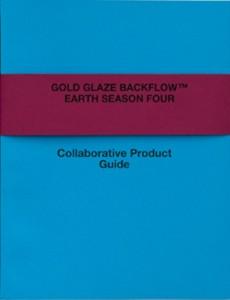 Gold Glaze Backflow by Chris White