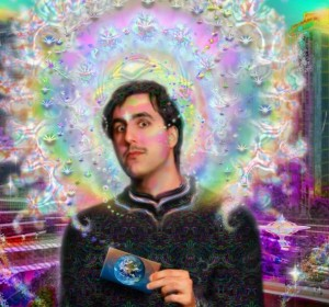 Aaron Levin Celestial Soul Portrait