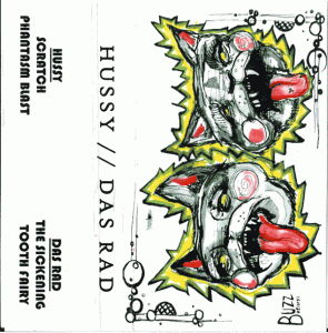 Hussy // Das Rad - Split Cassette