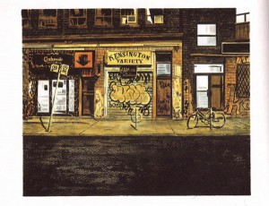 Back Alleys and Urban Landscapes by Michael Cho - Page 1