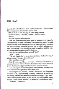 The Plan by Gleb Wislon (page scan)
