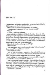 The Plan by Gleb Wislon (page scan)