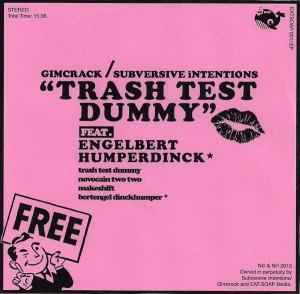 Gimcrack / Subversive Intentions - Trash Test Dummy