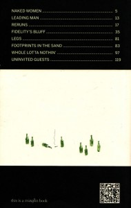 Music for Uninvited Guests (Back Cover)