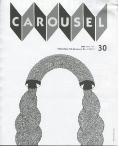 Carousel Magazine Issue No. 30 (Inside Cover)
