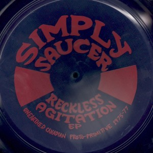 Simply Saucer - Reckless Agitation EP