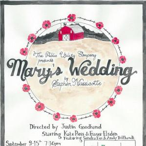 Mary's Wedding [Stephen Massicotte]