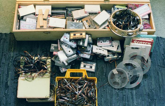 Ephemera :: Carl Didur - Tape Loops and Tapes
