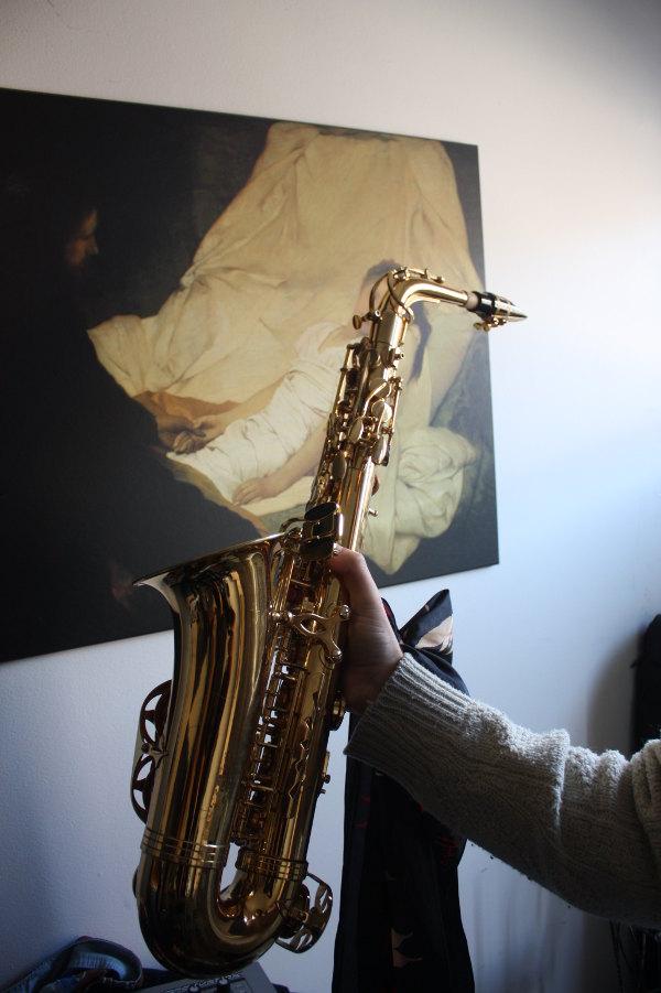 Francesco de Gallo on Hobo Cubes - Saxophone