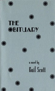 The Obituary [Gail Scott]