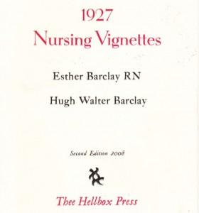 1927 Nursing Vignettes