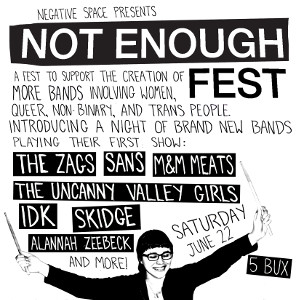 How To Host Your Own Not Enough Fest in Your City