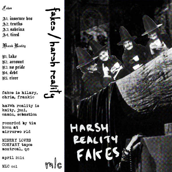 Fakes // Harsh Reality - Split