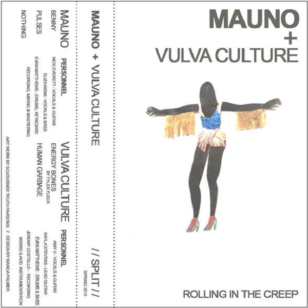 Weird_Canada-Mauno/Vulva_Culture-SPLIT_TAPE