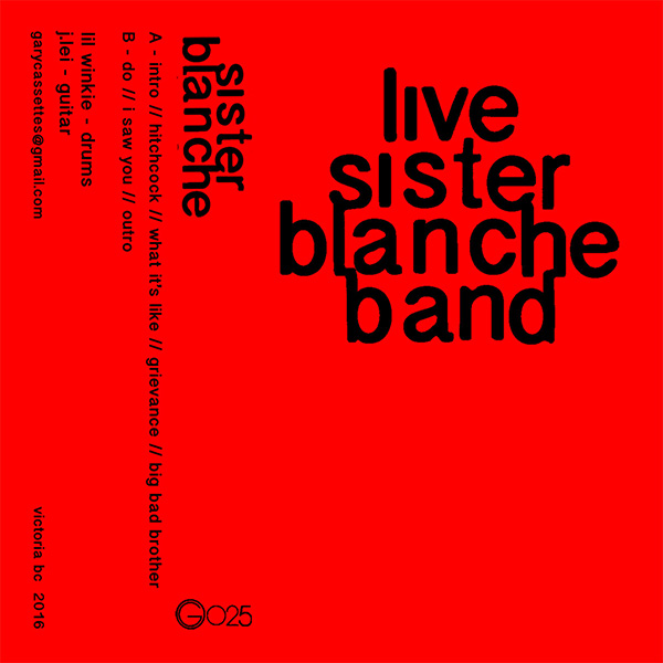 New Canadiana :: Sister Blanche - Live Sister Blanche Band